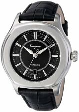 Ferragamo Men's FQ1010013 Lungarno Stainless Swiss Automatic ETA 2824-2 Watch