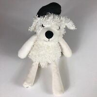 """Scentsy Buddy Pari The Poodle Plush Dog 16"""" Stuffed Beans White French Lavender"""