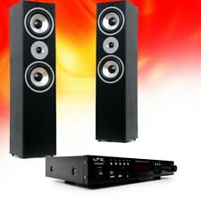Hifi Home Cinema Audio Equipment Bluetooth USB SD MP3 Amplifier Black Stand Box