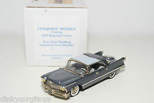 . CONQUEST MODELS 6G IMPERIAL CROWN FOUR DOOR HARDTOP 1957 MET. GREY MINT BOXED