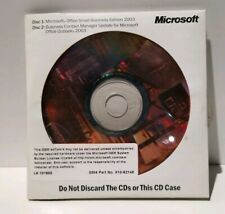 Authentic MS Office Small Business Edition & Business Contact Manager 2003