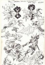 Deadpool: The Gauntlet #11 p.3B Thor vs Frankenstein 2014 art by Scott Koblish