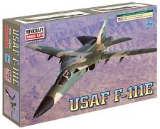 Minicraft USAF F-111E Aardvark Plastic Airplane Model Kit 1/144 Scale 14650