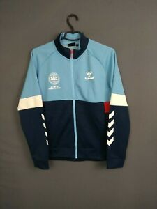 Denmark Jacket Women Size LARGE Full Zip Football Training Hummel ig93
