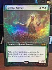 Eternal Witness FOIL Ultimate Box Topper Near Mint - Mint Magic MTG