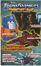 TRANSFORMERS COLLECTORS CLUB MAGAZINE #15 June July 2007