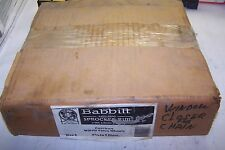 New Babbitt Adjustable Sprocket Rim With Chain Guide 7-3/4 To 9 Diam. Size 2