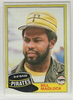 1981 Topps Baseball Pittsburgh Pirates Team Set Dave Parker & Willie Stargell