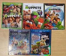 Disney Blu-Ray The Muppets W/ Bonus Steelbook, The Most Wanted, Original & More