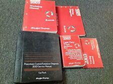 2003 FORD RANGER TRUCK Service Shop Repair Manual Set W EWD Specs PCED + MORE