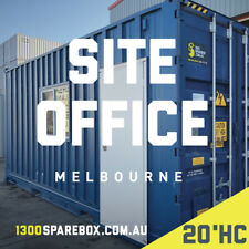 Portable Site Office or Work Shed Shipping Container | 20FT HC Modified Bulker