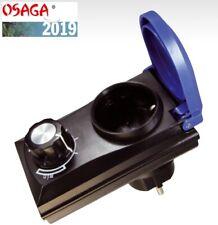 Osaga Drehzahlregler Leistungsregler für Teichpumpe Bachlaufpumpe, Filterpumpe