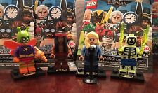 Lego The Batman Movie Minifigures Series 2 lot of 4