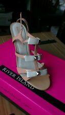 River Island summer heels size UK 6