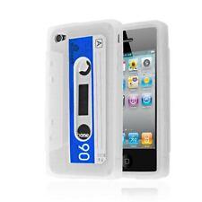 Étuis, housses et coques blancs en silicone, caoutchouc, gel pour téléphone mobile et assistant personnel (PDA) à motifs