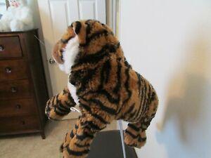 """""""BENGAL TIGER""""  Plush Stuffed Laydown  (Dakin/Applause, 13')"""