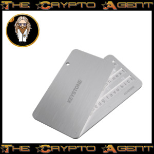 Keystone (Cobo) Tablet - Stainless Steel - Crypto Seed/Mnemonic Backup - A Must!