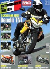 MO Italo07 + BENELLI TnT 1130 + 40 Seiten GUZZI + MOTORRÄDER aus ITALIEN Nr. 7