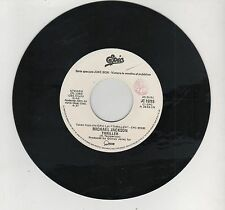 "MICHAEL JACKSON THRILLER PAUL YOUNG COME BACK AND STAY PROMO JUKE BOX 7"" 45 GIRI"