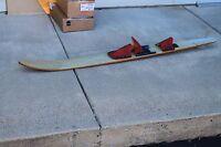"Vintage Wood WaterSki Craft Performance Concave Combo 66"" Wood Slalom"