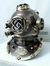 full size Vintage Helmet Mark V Deep U.S.Navy island Antique Diving Diver Decor