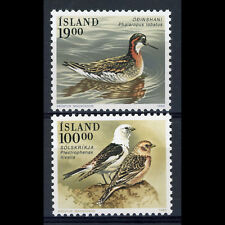 ICELAND 1989 Birds. SG 726-727. Mint Never Hinged. (AY348)