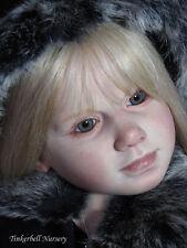 Gabriella toddler doll Kit Blanc Vinyle pièces pour faire un bébé reborn-pas terminé