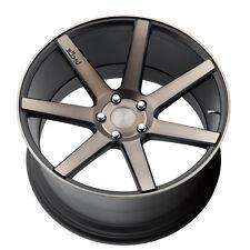 22 Wheels & Tires Niche Verona Black Rims Fit Porsche Cayenne Turbo GTS Audi Q7