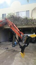 Excavator Log Grab,1.7 3 4,5,6, 8T Adjustable Rippers, Buckets Grapple