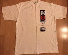 1990 Comic Relief Grande Naso Rosso Giorno stonker Unisex Uomo Donna T-SHIRT BIANCA