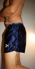 Puma D7 L  Large Wetlook Glanz Shiny Nylon Hose Glanzshorts Shorts Sportshorts