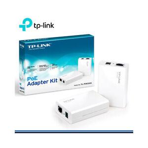 TP-LINK TL-POE200 Power over Ethernet Adapter Kit 2 Port White PoE Injectors