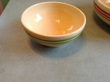 fiesta green stripe 7 1/2 inch bowl HLCCA exclusive