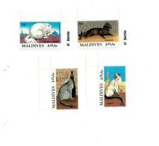 VINTAGE CLASSICS - MALDIVES - 9407 Cats Set of Four Stamps - MNH