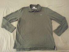 Mens Lacoste Polo Sweater 4 S Small Green Cotton Long Sleeve