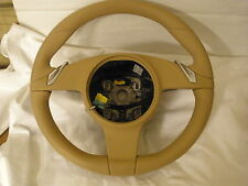 Porsche 2012 911 Carrera Steering Wheel Paddles PDK Beige Original Equipment