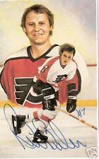 Bill Barber Autographed Hockey Legends Card HOFer