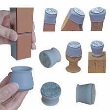 New listing 2020 New Chair Leg Covers, Felt Bottom Soft Silicone Protector Pads, 16 Pcs
