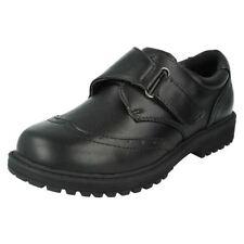 Chaussures noires en synthétique pour garçon de 2 à 16 ans, pointure 36