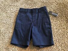 George Boys Size 6 Flat Front Shorts School Uniform Navy Blue~Shrink Resistant!