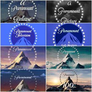 (8) Paramount Pictures Logo 8.5x11 Glossy Promo Photograph Picture Studio LA CA