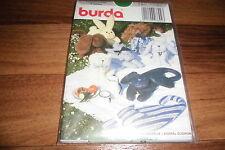 BURDA-BABY Schnittmuster 3892    //       6  verschiedene:  TIER-KUSCHEL-KISSEN