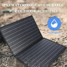 ZOOMBROS 120W Foldable Solar Panel Charger for Portable Power Station, USB-C