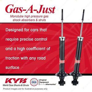 2 x Rear KYB Gas-A-Just Shock Absorbers for Lexus GS300 GRS190 3 RWD Sedan