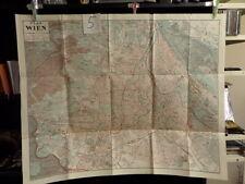 alte Landkarte Plan von Wien von 1902 5