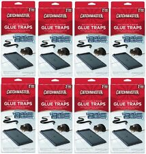 (8) ea AP & G # 402 CatchMaster 2 Pack Rat Mouse & Snake Glue Traps