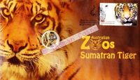 PNC Australia 2012 Australian Zoos Sumatran Tiger RAM $1 Coloured Coin