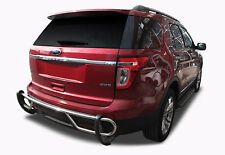 Broadfeet S/S Rear Bumper Guard Double Pipe [Fits: 2011-2019 Ford Explorer]