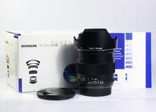 Carl Zeiss Distagon 25mm / 1:2 ZE T* für Canon EF, 1 Jahr Gewährleistung