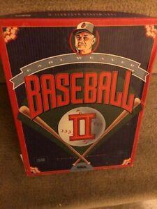 Earl Weaver Baseball II 2 PC computer game Baseball Vintage Complete